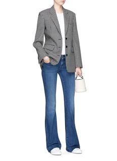 J Brand 'Lovestory' mid rise bell-bottom jeans