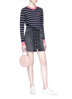 Etre Cecile  'Frenchie' stripe Merino wool blend sweater