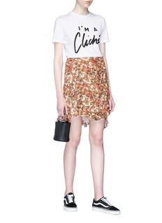 Etre Cecile  'I'm A Cliché' slogan print T-shirt