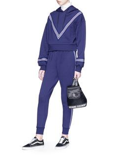 Etre Cecile  Stripe outseam track pants