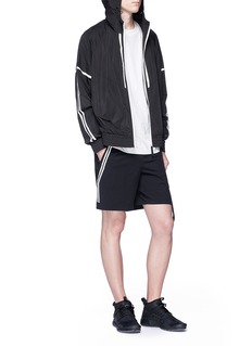 BLACKBARRETT Contrast trim windbreaker jacket