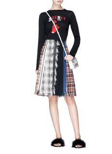 Sonia Rykiel 'Secret' graphic intarsia wool sweater