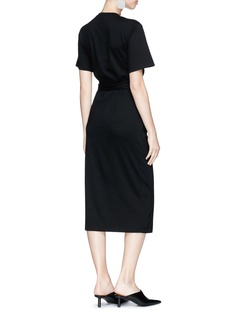 Proenza Schouler Ruched panel T-shirt dress