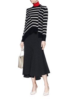 Proenza Schouler Asymmetric stripe sweater