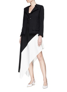 Proenza Schouler Frayed suiting blazer
