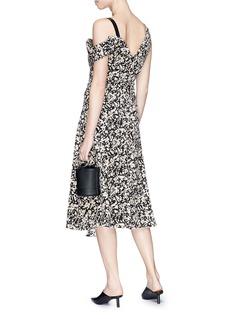 Proenza Schouler Floral print crepe de Chine dress