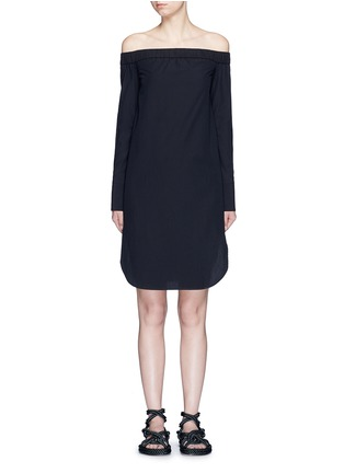 Main View - Click To Enlarge - rag & bone - 'Kacy' off-shoulder cotton poplin dress