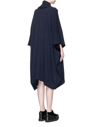 Stella McCartney - Wool-cashmere knit cape