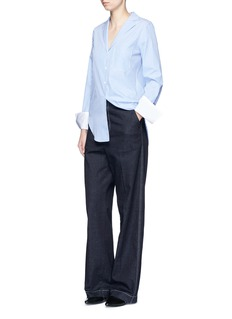 RAG & BONE'Ryder' pocket stripe cotton shirt