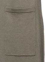 'Torina SL' long wool cardigan