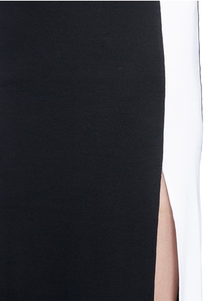 Detail View - Click To Enlarge - rag & bone - 'Sam' sport side stripe jersey dress