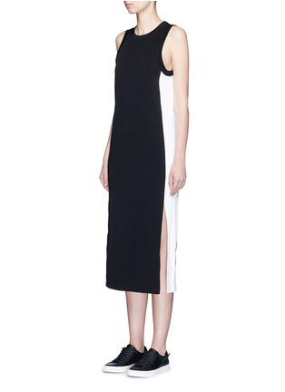 Front View - Click To Enlarge - rag & bone - 'Sam' sport side stripe jersey dress