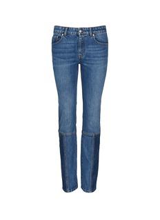 Alexander McQueenPatchwork jeans