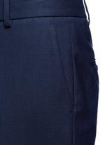 'Contour' virgin wool cropped pants