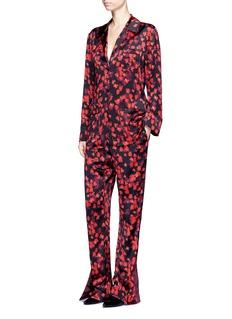 GIVENCHYFloral print silk satin pyjama pants
