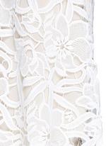 'Emmeline' floral lace tank top