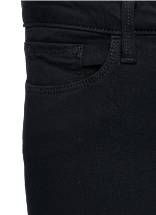Detail View - Click To Enlarge - L'Agence - 'The Chantal' skinny ankle grazer pants