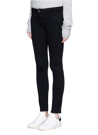 Front View - Click To Enlarge - L'Agence - 'The Chantal' skinny ankle grazer pants