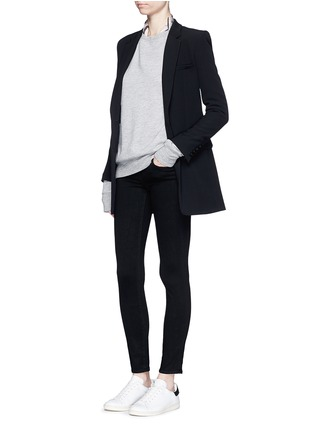 Figure View - Click To Enlarge - L'Agence - 'The Chantal' skinny ankle grazer pants