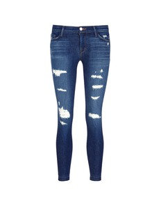 J Brand 'Cropped Skinny' distressed jeans
