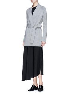 Theory 'Malinka C' cashmere long cardigan