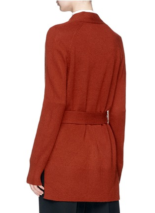 Back View - Click To Enlarge - Theory - 'Malinka C' cashmere long cardigan
