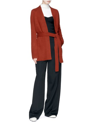Figure View - Click To Enlarge - Theory - 'Malinka C' cashmere long cardigan