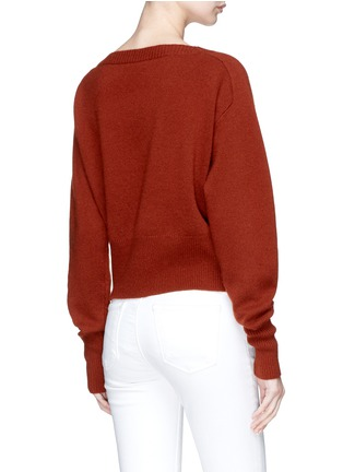 Back View - Click To Enlarge - Theory - Cashmere sweater