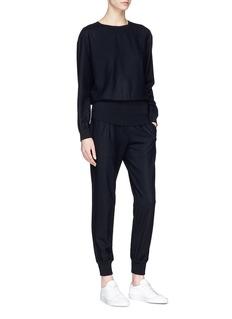 Theory Virgin wool blend sweatshirt