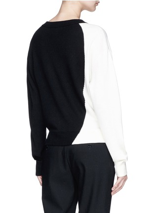 Back View - Click To Enlarge - Theory - Colourblock sweater