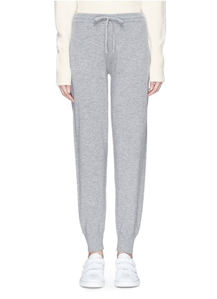 Main View - Click To Enlarge - Theory - Stripe outseam cashmere pants