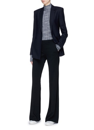 Figure View - Click To Enlarge - Theory - 'Demitria' flared crepe pants