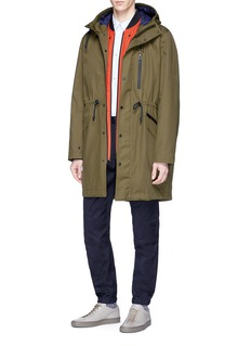 PS by Paul Smith Two-in-one coat and bomber jacket