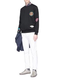 Paul Smith Mixed appliqué sweatshirt