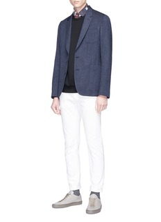 Paul Smith Wool-blend soft blazer