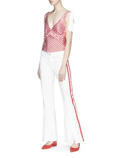 Maggie Marilyn 'Game Changer' contrast stripe pants