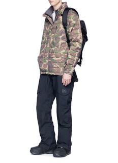 Burton 'BK Lite Insulator' camouflage print down jacket