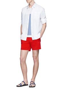 Vilebrequin 'Caroubis' woven linen shirt
