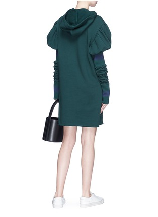 Figure View - Click To Enlarge - Maggie Marilyn - 'Shines in the Dark' hooded sweat dress