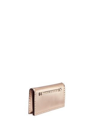 Figure View - Click To Enlarge - Valentino - 'Rockstud' leather flap clutch