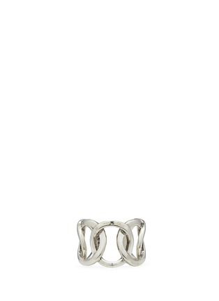 Main View - Click To Enlarge - Philippe Audibert - 'Columbus' cutout chain link ring