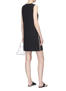 VICTORIA, VICTORIA BECKHAM Strass embellished outseam suiting dress