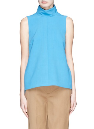Main View - Click To Enlarge - VICTORIA, VICTORIA BECKHAM - Hook-and-eye back sleeveless top