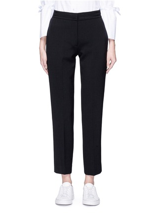 Main View - Click To Enlarge - VICTORIA, VICTORIA BECKHAM - Cropped straight leg suiting pants