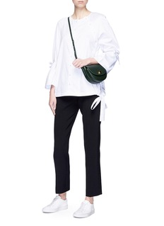 VICTORIA, VICTORIA BECKHAM Cropped straight leg suiting pants