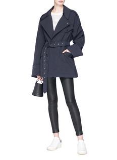 Isabel Marant 'Lorenzo' belted oversized jacket
