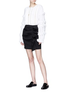 Isabel Marant 'Cosmos' ruffle trim blouse