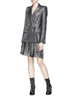 Isabel Marant 'Delphi' Lurex lamé skirt