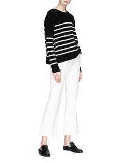 Isabel Marant 'Lyre' cropped flared pants