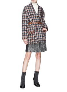Isabel Marant 'Jamsy' graphic tweed jacket